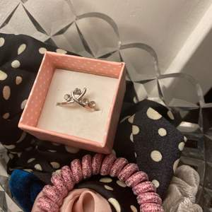 Jättefin och söt silverring, 25kr💕💕💕