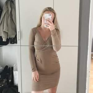 Använd 1 gång. Superfin klänning från NELLY i XS🌼 Frakt tillkommer.