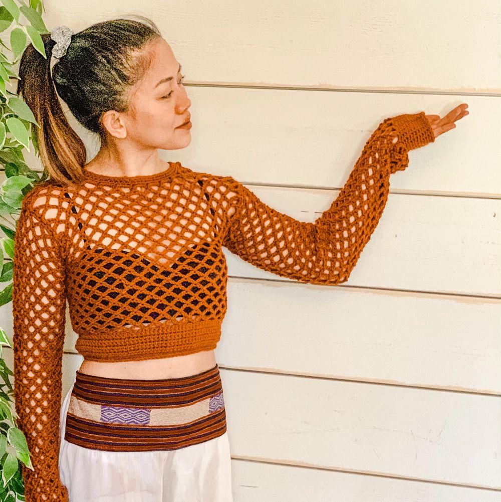 Handmade, Material:Aran, elastic waist, Size:Small-Medium, . Tröjor & Koftor.