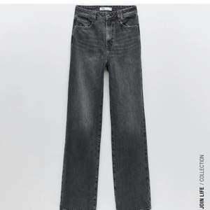 """Supersnygga gråa """"Stonewashed"""" jeans från zara! Tyvärr för stora på mig. Superbra skick!"""