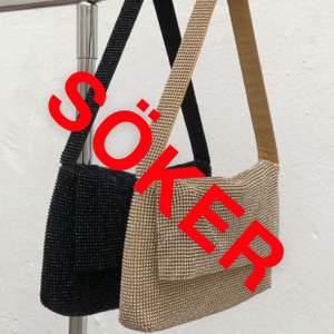 Söker den svarta väskan från Biancas collektion med Nelly. Tror den heter london bag. Hör gärna av er om ni har och vill sälja!🥰
