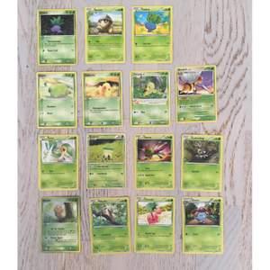Säljer Pokémon kort billigt, man kan välja att ta en färg. (Beroende på hur många i en färg så varierar priset) Eller 10st kort för 39kr💕 skriv om du har frågor👍🏼