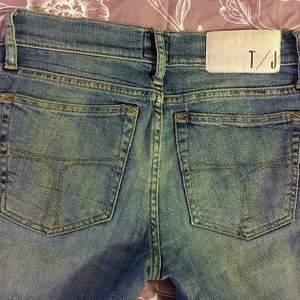 Skitsnygga jeans från Tiger of Swe. Storleken är borttvättad från lappen men dom är inte så stretchiga och passar strl 28/34. (S/M)