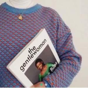 !!Lånad bild!! Säljer min unika hm stickade tröja. Sparsamt använd💓 lägg ett bud!!