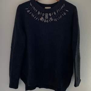 🖤 Mörkgrå stickad tröja från H&M                                           🖤 Storlek: M
