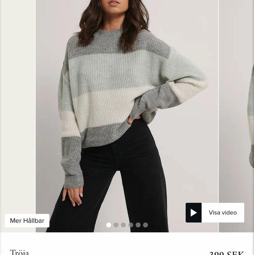 Säljer denna jöttefina skickade tröjan från nakd💕💕 har använt tröjan några få gånger så den är som ny, storlek S. Stickat.