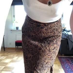 Asfin kjol med paisleymönster <3