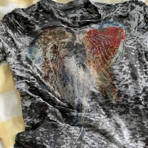Långärmad tröja med paljetter
