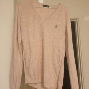 Rosa jättefin GANT tröja, knitwear. Storlek M.