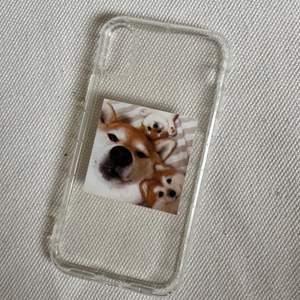 Jättegulligt skal till iPhone X med Shibas på🥺 oanvänt. Säljes pga har en ny telefon. Frakt 12kr💜