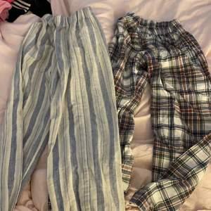 Säljer pyjamasbyxor min farmor sytt🥺 älskar dom men dom är tyvärr för små, 50kr styck