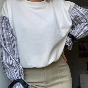 Säljer en tröja som inte kommer till användning. Den är i storlek one size och säljs för 70kr+frakt