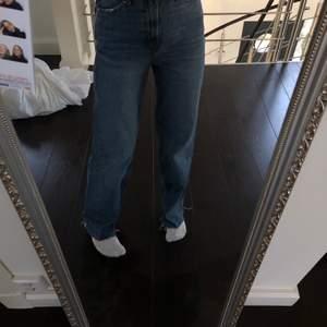 skitsnygga wideleg jeans från zara 💖💖💖  sitter perfekta på mig som är 165