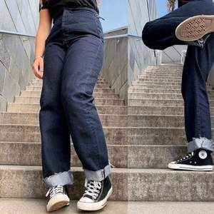 Najsiga Jeans med 70/80-tals stuk. Fortfarande i gott skick!
