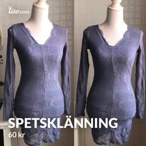 Fin lavendelfärgad spetsklänning från NLY i storlek S. Mycket fint skick! Hämtas eller kan skickas mot fraktkostnad