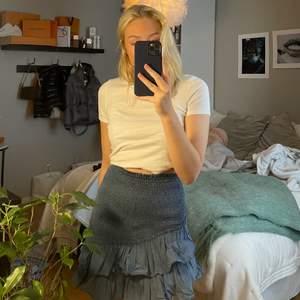 Säljer denna populära kjol från zara som jag köpte förra året. Den kom tyvärr endast till användning någon enstaka gång. Storlek S. Köparen står för frakt