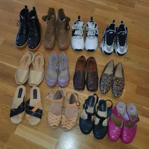 Säljer massor med skor i storlek 38-39 Kommentera eller skriv privat för fler bilder, info samt pris