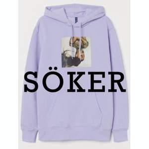 jag söker denna ariana grande x H&M hoodie. Skriv till mig om du har en och vill sälja. Jag köper för ett bra pris