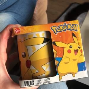 Mugg med pikachu!!!! :) för Pokémon fans 💕120 plus frakt