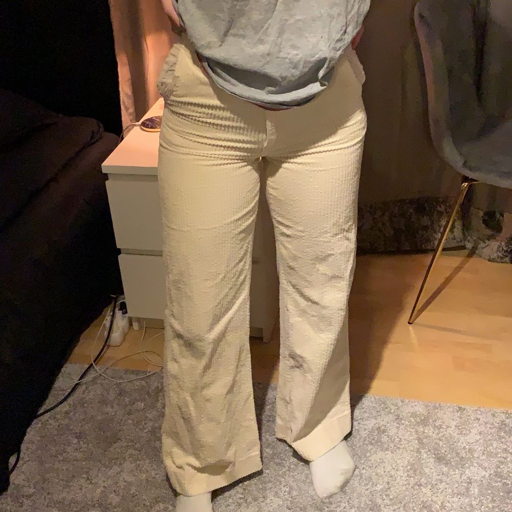 Manchesterbyxor, stl 34. Jeans & Byxor.