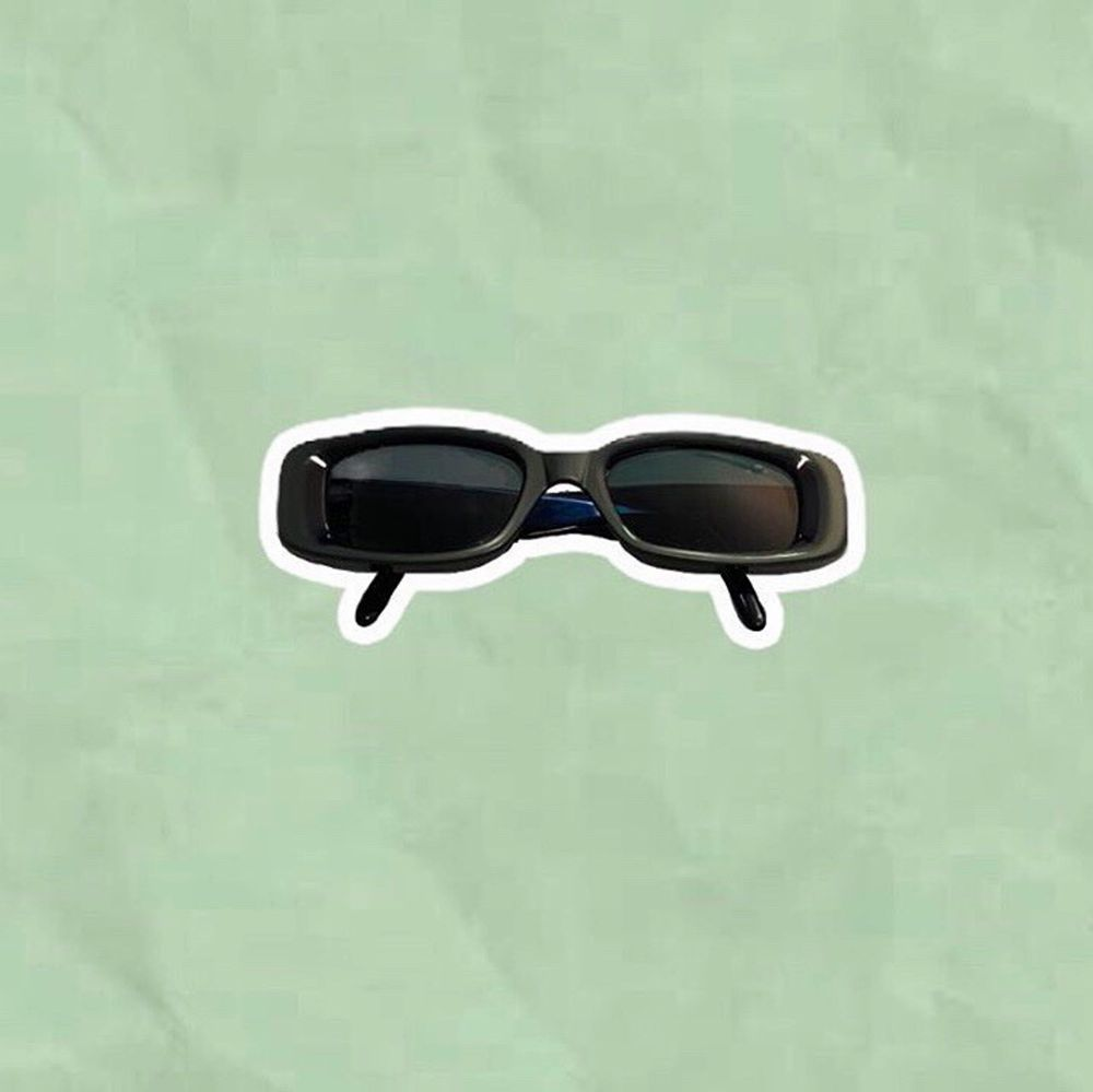 Vintage Gucci solglasögon inklusive låda/fodral. Accessoarer.