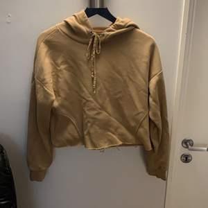 En hoodie från lager 157 i typ latte färg den är lite kortare.