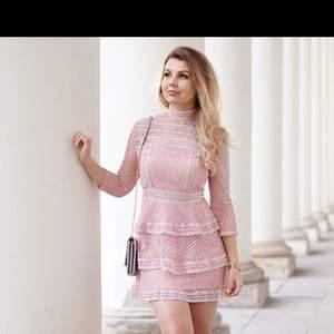 Rosa klänning helt ny str xs