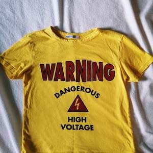 T-shirt från zara med tryck. Använd fåtal gånger.