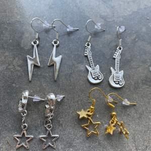 Handgjorda örhängen! Frakt 11kr! Ingår vid köp av två smycken eller mer!💜