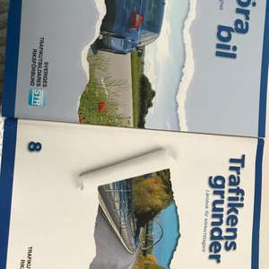Teoriböcker för B-körkort och trafikens grunder. Helt nya 2020