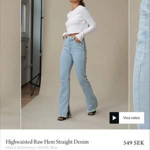 Säljer dessa otroligt snygga byxor på grund av att jag beställde för stor storlek. Perfekt skick knappt använda.   Hör av er vid frågor eller fler bilder :) är ca 170 lång. Den som budar högst får köpa byxorna.