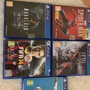 9 Fult fungerade spel till ps4, funkar helt korrekt inget fel med spelen, har ingen användning till dem och det får mig och sälja dessa spel.