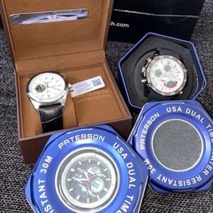 Sprillans nya klockar, äkta & limited edition. 1500:- var                         Alla 3 tillsammans för 4000:-