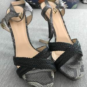 Charles & Keith synethic leather heels. Worn only once! In perfect condition. 10 cm heel height.