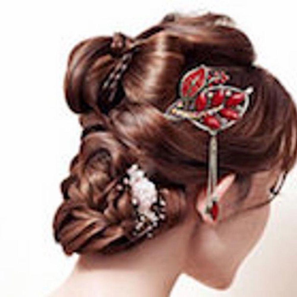 Hair accessories, hair chopsticks. Accessoarer.