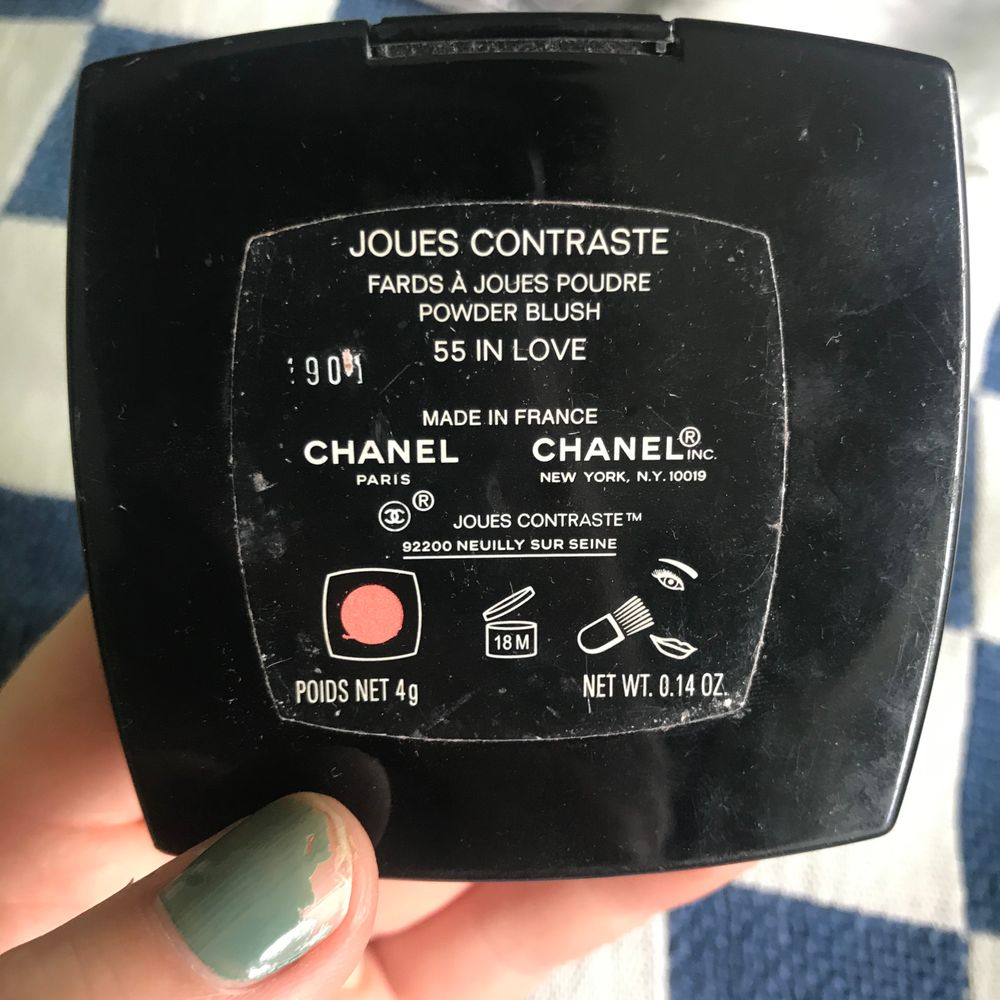 Nästan oanvänt rouge från chanel, borste saknas dock!. Övrigt.