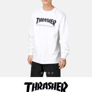 Säljer min Trasher tröja, då den inte kommer till användning längre. Använd fåtal gånger och jätte bra skick. Storlek S.  Köparen står för frakt.