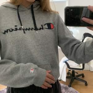 Champion hoodie i storlek S, inte använd så många gånger!! 150kr + frakt (pris kan diskuteras)💞💞