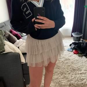 Kollar intresset på denna kjol köpt i Spanien för 300 kr. Det är resår i midjan så jag skulle säga att den passar en xs-m. Själv är jag sen s så ni ser ju hur den sitter på mig☺️ Om det är flera som vill ha den så vinner högst bud!