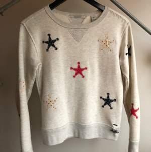 Jättefin Scotch and Soda tröja / collegetröja / sweater i XS. Frakt 63 eller hämtas upp i Gbg!