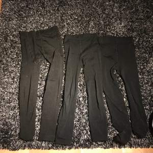 Använda tre stycken på köpet bomull tights, storlek S🌸 Köparen betalar för frakten🌸