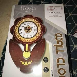 Otroligt fina klockor, helt ny och oöppnade.