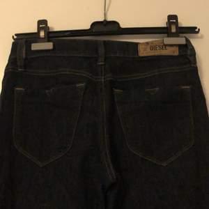 Diesel Livier flare super slim-flare low waist jeans
