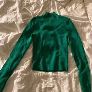 super fin grön tröja med lite polo! aldrig använd därför i nyskick!😁💕