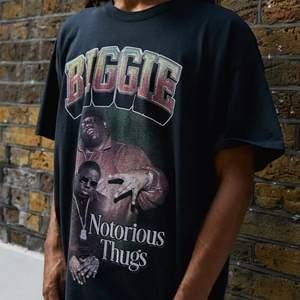 (Lägger upp igen pga oseriöst köpare) Cool oversized Biggie t-shirt från Urban Outfitters i storlek S. Fint skick, köpare står för frakt💕  Första bilden är lånad!