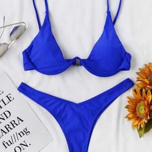 Säljer en helt ny bikini ifrån Shein, nypris är 90kr. Har självklart aldrig använt den utan endast testad. Frakt kostar 45kr 💙
