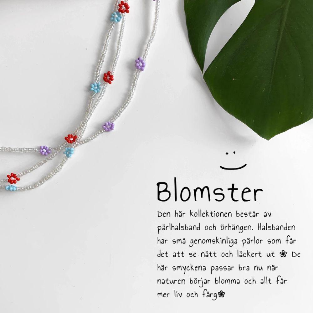 """Nu släpps min nya kollektion """"Blomster""""! 🌸 Här får ni en bild av hur smyckena kan sitta på💕 Kika in på mina andra annonser för bättre beskrivning, priser m.m. Accessoarer."""