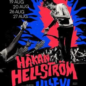 Söker två Håkan hellström biljetter. Den 27 augusti 2022.