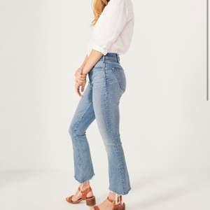 Sjukt sköna jeans från abercombie and fitch. Storlek 24|00. Pris går att diskuteras.