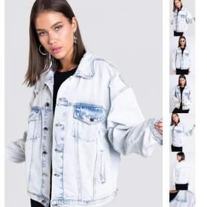 Jeans jack ifrån Madaldy, alddig använd, storlek oversiz S, original pris 600kr mitt pris 450kr